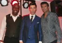Russell Kane, Sal Bashir and DJ Dez
